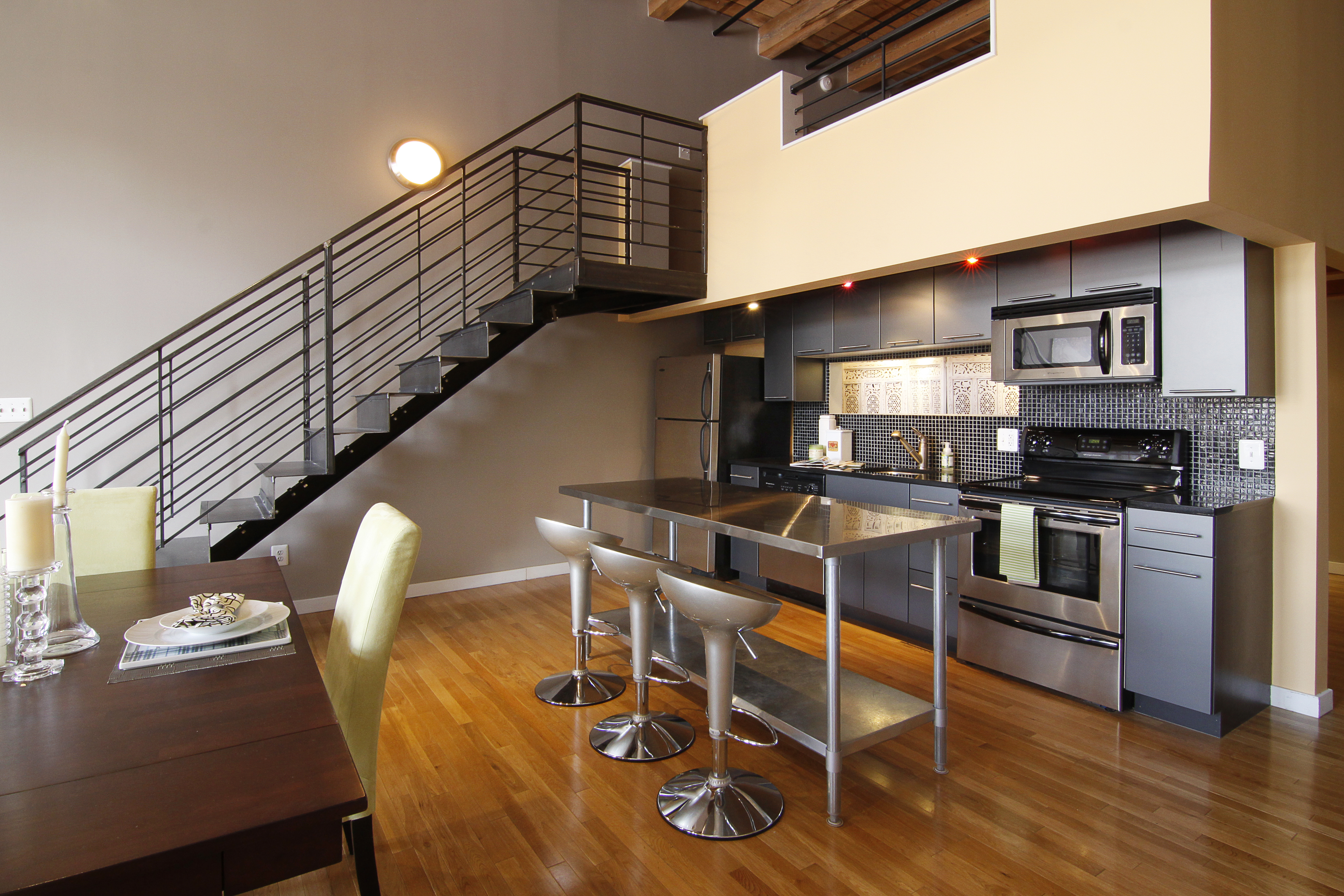Cool Modern Loft In Minneapolis Sexton Lofts For Sale